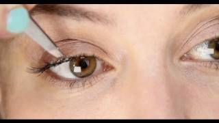 Lisa Eldridge - How To Apply Individual False Eyelashes Tutorial, false eyelashes, false lashes, eyelashes, how to, tutorial