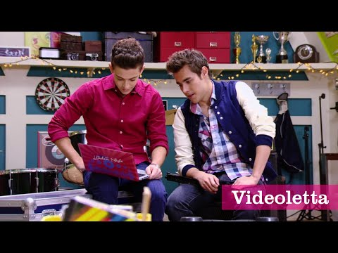 Violetta 3 English: Fede shows to Leon Vilu's video Ep.43