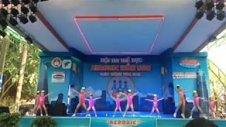 Aerobic Đất Nam - trống cơm - aerobic mầm non 2018