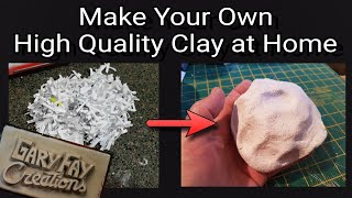 How to make paper clay (high quality)