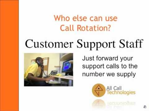 Call Rotation for Sales and Customer Support Business Calls