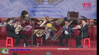 Chỉ 6 người hòa tấu kèn cực đỉnh - Chuông Ngân Vang (Jingle Bell )-Nhóm Brass Band