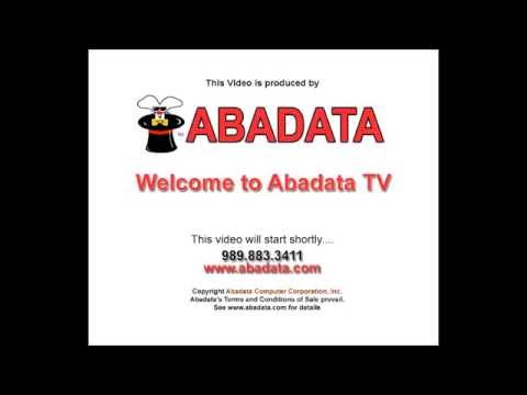 Panasonic TGP 550 How To Place a Call - with Abadata Computer Corporation