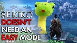 Sekiro Doesn't Need an Easy Mode