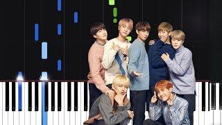 BTS (방탄소년단) '봄날  Spring Day  Piano Tutorial