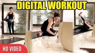 Watch: Tamannaah doing DIGITAL WORKOUT with her trainer..