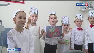 В Омске открылся первый стоматологический кабинет в детском саду
