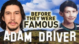 ADAM DRIVER | Before They Were Famous | The Last Jedi | Kylo Ren