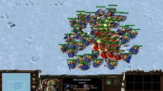 (Comment Request) 33 Spell Breaker vs 50 Necromancer (100 Food) Fully Upgrade 1080p