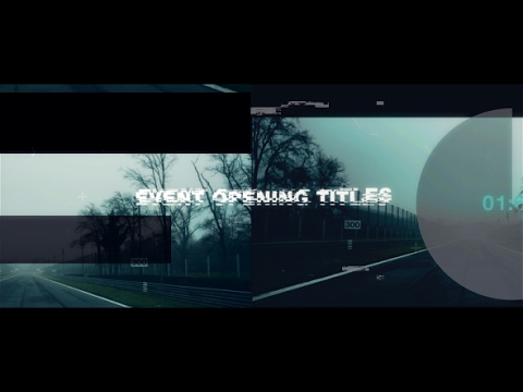 Event Opening Titles ( After Effects Project Files ) ★ AE Templates