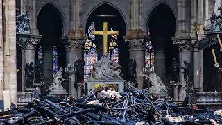 Art expert on salvaging priceless artworks of Notre Dame