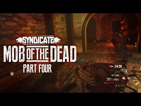 Black Ops 2 Zombies 'Mob Of The Dead' Easter Eggs! Gameplay Live W/Syndicate (Part 4) - Smashpipe Games