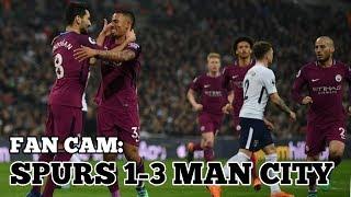 FAN CAM: Tottenham Hotspur 1-3 Manchester City VLOG - Unbeaten Run Comes to an End - 14 April 2018
