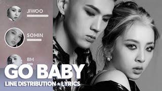 KARD - GO BABY (Line Distribution + Lyrics)