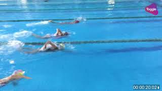 July bơi sải 50m ở Hồ bơi Rạch Miễu 25/8/2017