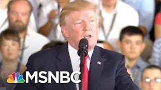 Donald Trump Stands By Joe Arpaio Pardon   MTP Daily   MSNBC