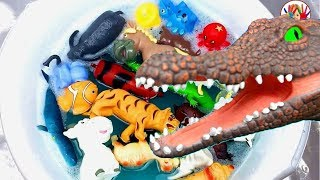 Lots of Wild Zoo Animals Toys Baby Mom Learn Animals Names Education Toys for Kids