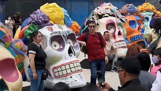 مكسيكو سيتي تستعد لتنظيم استعراض يوم الموتى