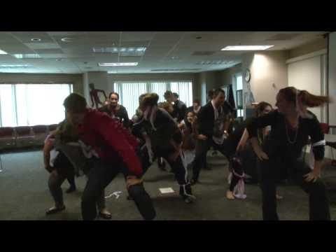 Arbella Employees Do 'Thriller' Dance Routine