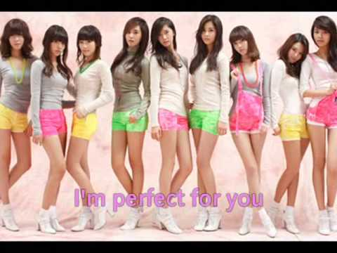 Honey (Perfect for you) SNSD English LYRICS ♥
