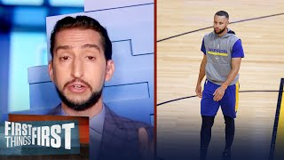 I'm out on Steph Curry winning another title with the Warriors — Nick | NBA | FIRST THINGS FIRST