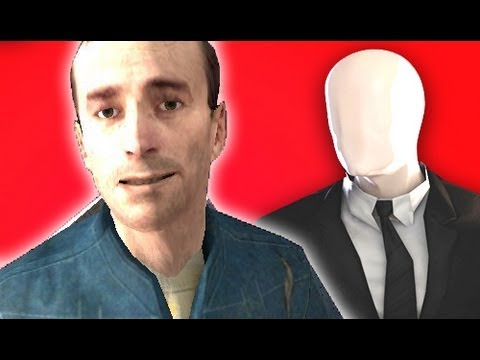 PLAY AS SLENDERMAN! - Gmod SCARY Slender Man Multiplayer Mod! (Garry's Mod) - Smashpipe Games