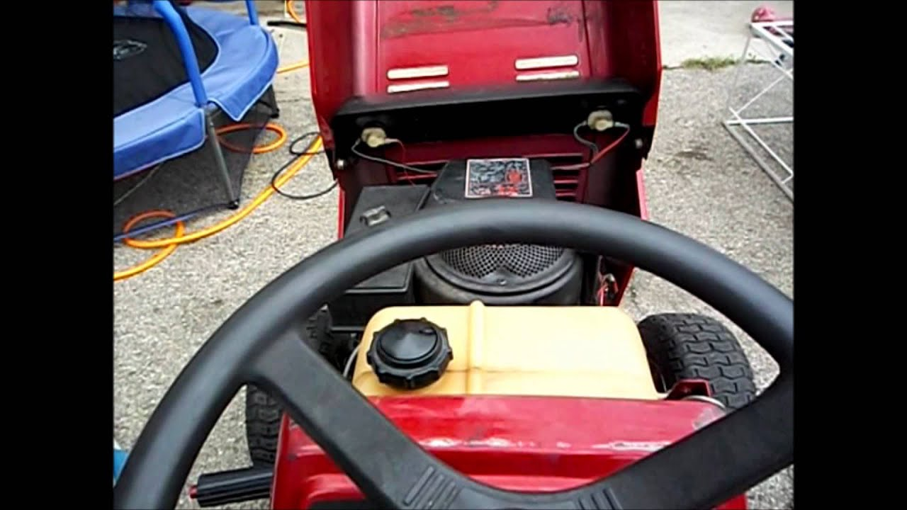 38 Quot Deck 12 Hp Murry Riding Mower Clist Youtube