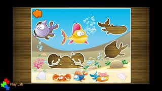 In fondo al Mar - Learn Shapes and Colors - At the bottom of the sea -  Educational app for children