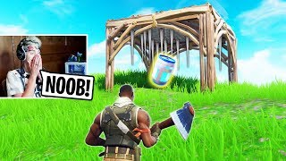 7 Times Pros TROLLED Noobs In Fortnite! 😂