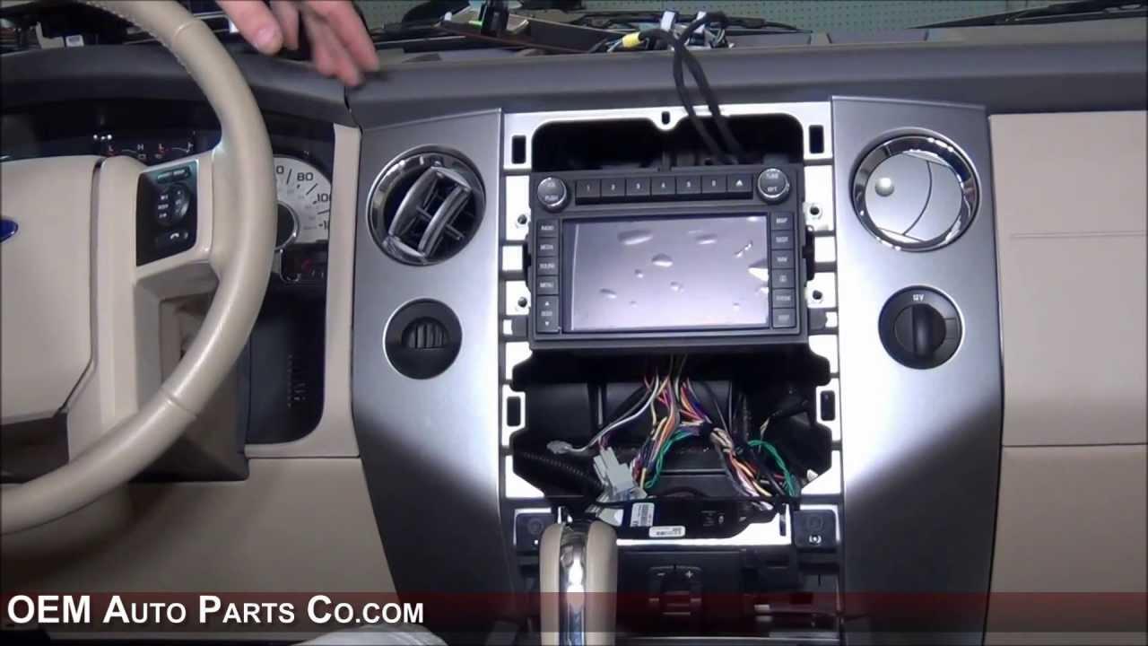Ford Clarion Navigation Gps Radio Installation Youtube