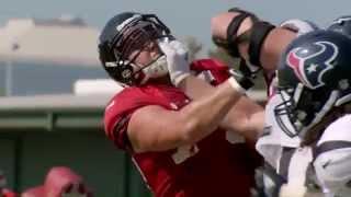 J.J. Watt is a MONSTER - Hard Knocks (2014 season)