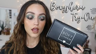 JULY BOXYCHARM UNBOXING | 2019 (Try on- First Impressions)