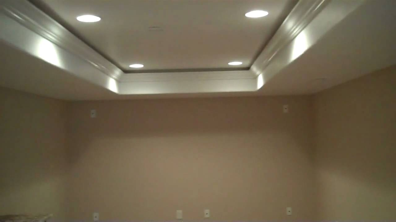 Colorado Basement Finishing T.V. Greater Heights With Tray