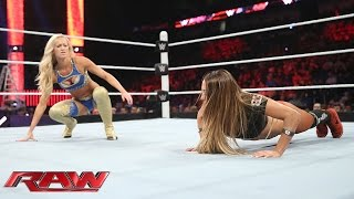 Summer Rae vs. Nikki Bella: Raw, June 8, 2015