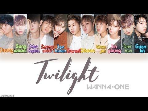 Wanna One (워너원) - Twilight [HAN ROM ENG Color Coded Lyrics]