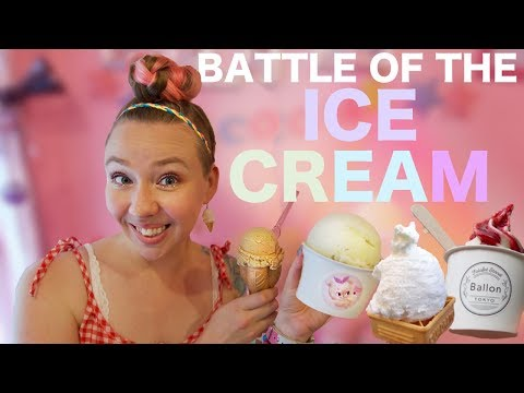 Battle of the Ice Cream!