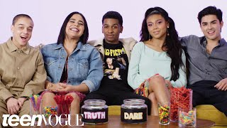"""On My Block"" Cast Plays 'I Dare You' 
