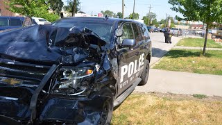 Detroit Woman Steals Police Car, High Speed Chase Ensues