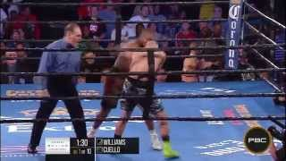 Williams vs Cuello: PBC on Fox Sports 1 HIGHLIGHTS - Sept. 22, 2015