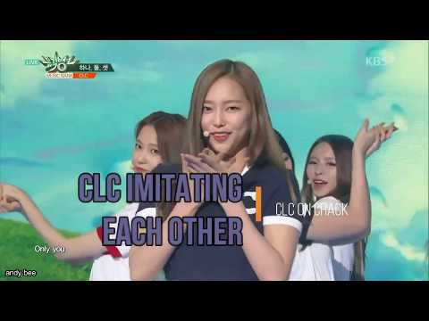 CLC on Crack | CLC Imitating Each Other