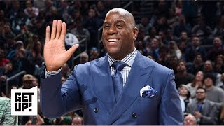 Magic Johnson 'lost his identity' while serving as Lakers' president - Ramona Shelburne | Get Up!