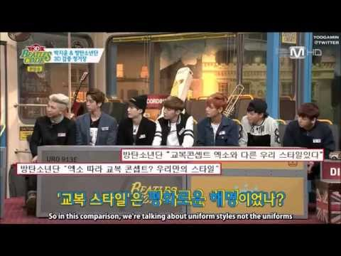 [ENG SUB] 방탄소년단 BTS Explained About Copied EXO
