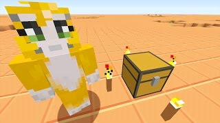 Minecraft Xbox - Stampy Flat Challenge - A Strange New World (1)