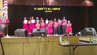 Alphonsa Unit Kids Group Song @ Parish Day 2018
