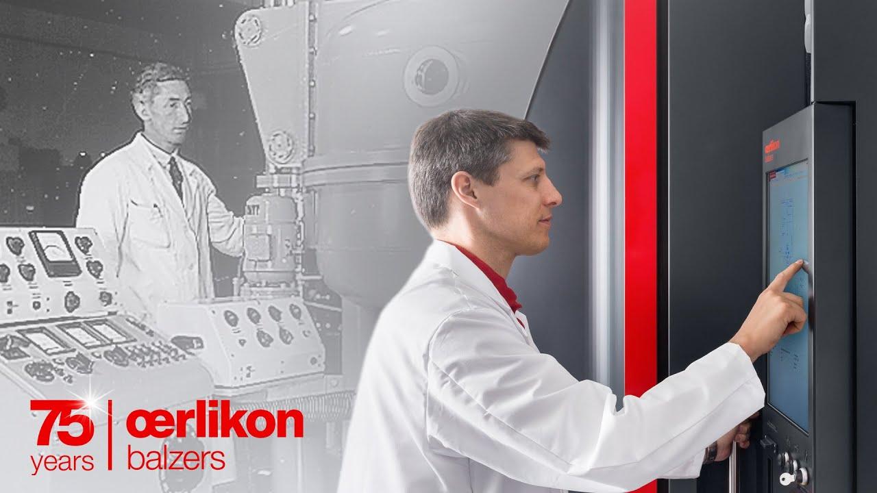 Explore 75 years of Oerlikon Balzers