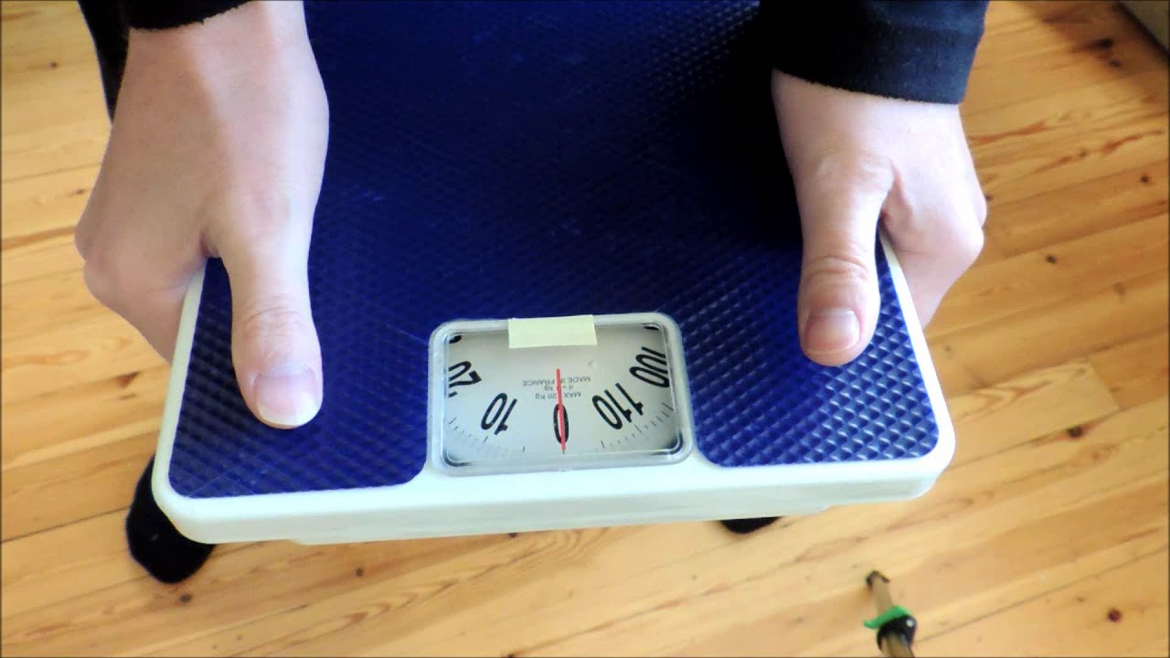 How To Measure Hand Grip Strength With Bathroom Scale