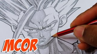 How to Draw Gohan Super Saiyan 2 - Dragon Ball Z