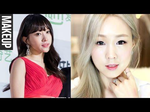 KOREAN MAKEUP TREND: Dewy Skin & Coral Makeup ♥ Skincare Tips 하니 서가대 촉촉 피부 & 코랄 화장법 [한글자막]