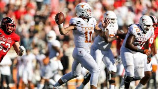 Texas vs Texas Tech Football Highlights
