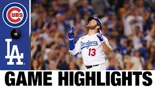 Cubs vs. Dodgers Game Highlights (6/25/21)   MLB Highlights